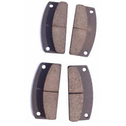 Rear brake pads Microcar Virgo MC before 06r