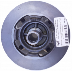 Virgo front brake discs Microcar with hub