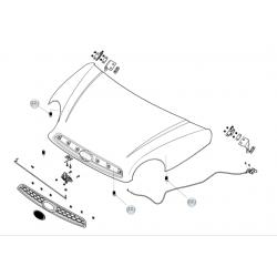 Odbój maski Microcar P60