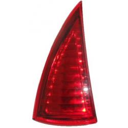 Reflective rear triangular lamp Aixam 2005-2010 left